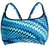 Funkita Sports Top - Bikini Femme - bleu